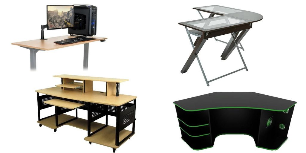 types of gaming desks