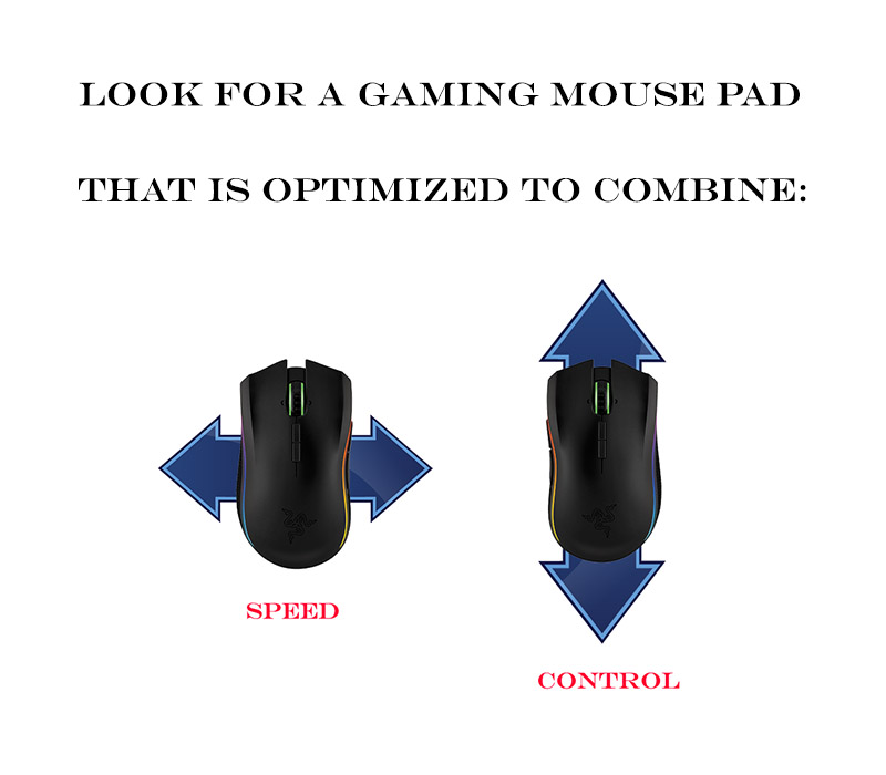 optimized mouse pad for gaming